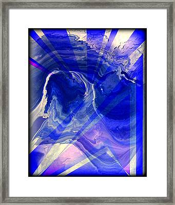 Abstract 36 Framed Print by J D Owen