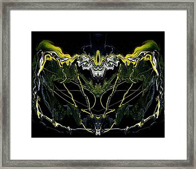 Abstract 42 Framed Print by J D Owen