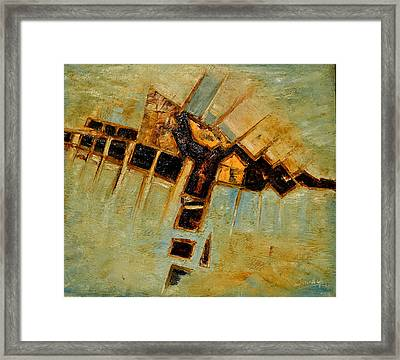 Abstract-5 Framed Print by Anand Swaroop Manchiraju