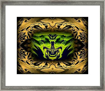 Abstract 52 Framed Print by J D Owen