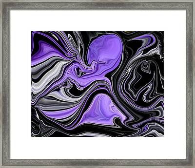 Abstract 57 Framed Print by J D Owen