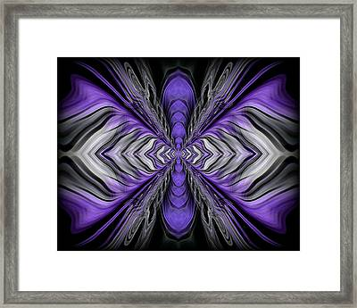 Abstract 73 Framed Print by J D Owen