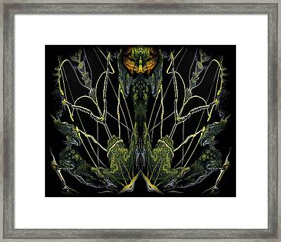 Abstract 92 Framed Print by J D Owen