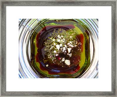 Abstract Shapes Framed Print