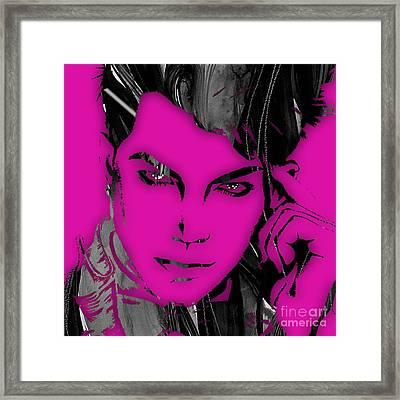 Adam Lambert Collection Framed Print