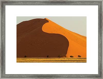 Africa, Namibia, Namib Desert Framed Print