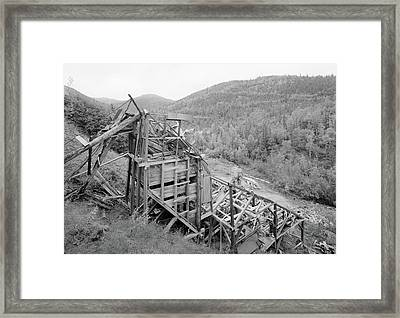 Alaska Gold Mine, 2000 Framed Print