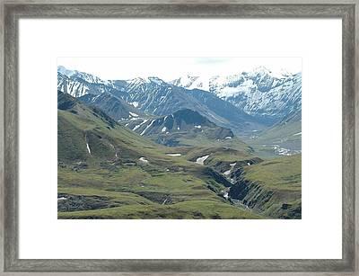 Alaska Framed Print