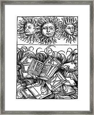 Alexandria Library Framed Print by Granger