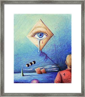 4 All 2 See Framed Print by Daniel Ragsdale Combs