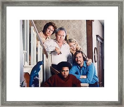 All In The Family  Framed Print