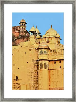Amber Fort, Jaipur, India Framed Print