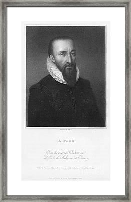 Ambroise Pare (1517?-1590) Framed Print by Granger