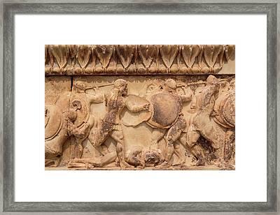 Ancient Delphi, Greece. Museum Framed Print