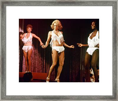 Angie Dickinson In Police Woman  Framed Print by Silver Screen