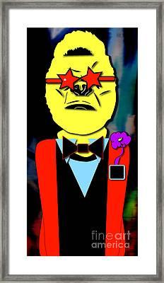 Ape Banquet Framed Print by Marvin Blaine