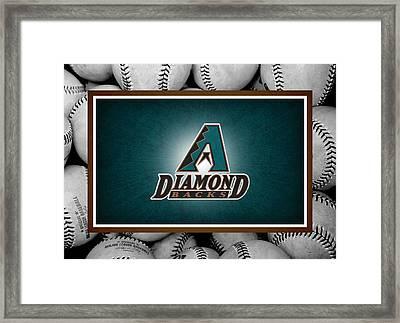 Arizona Diamondbacks Framed Print by Joe Hamilton