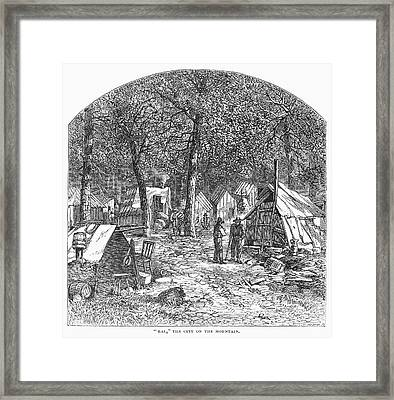 Arkansas Hot Springs, 1878 Framed Print by Granger