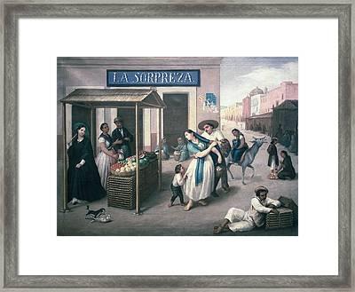 Arrieta, Jos� Agust�n 1802-1874. The Framed Print