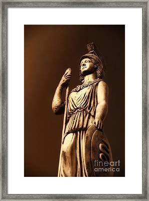 Athena Framed Print by Altay Suleyman