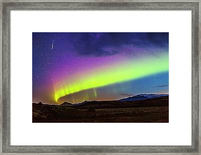 Aurora Borealis Framed Print by Juan Carlos Casado (starryearth.com)