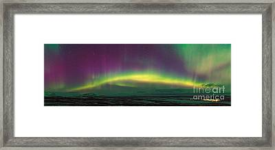 Aurora Borealis, Lapland, Sweden Framed Print by Babak Tafreshi, Twan