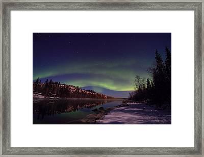 Aurora Borealis Framed Print by Seiji Iwaihara