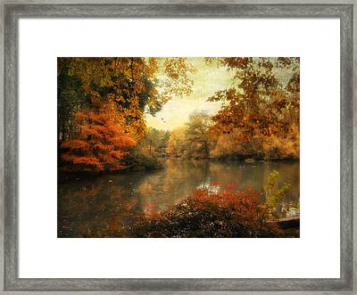 Autumn Afternoon  Framed Print by Jessica Jenney