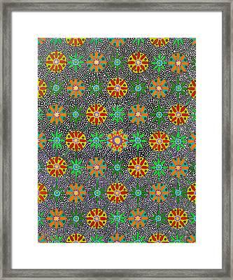 Ayahuasca Vision Framed Print