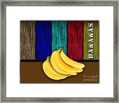 Bananas Framed Print
