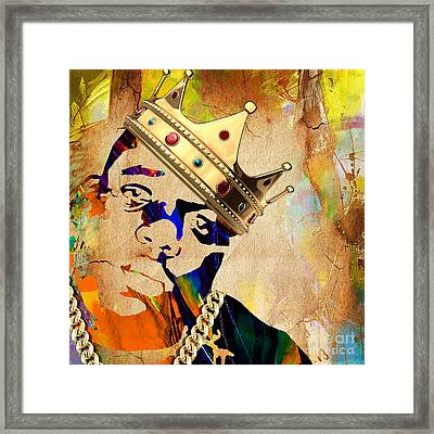 Biggie Collection Framed Print by Marvin Blaine