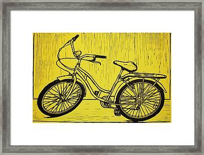 Bike 5 Framed Print