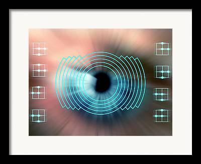 Biometrics Framed Prints
