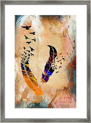 Birds Of A Feather Framed Print by Marvin Blaine