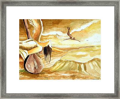 Birth Of A Song Framed Print by Ayan  Ghoshal