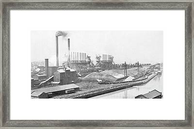 Blast Furnaces Framed Print