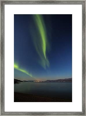 Blue Hour Framed Print by Frank Olsen