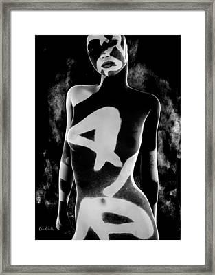 4 Framed Print