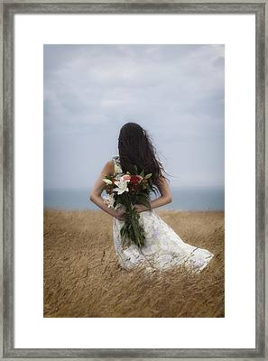 Bouquet Of Flowers Framed Print by Joana Kruse