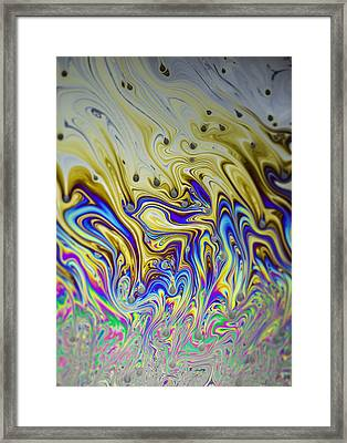 Bubble Art Framed Print