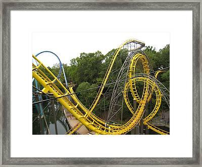 Busch Gardens - 12125 Framed Print by DC Photographer