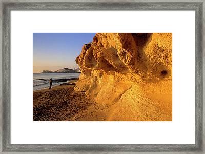 Cabo De Gata Framed Print by Lucas Vallecillos