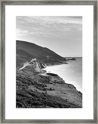 Canada, Nova Scotia, Cape Breton Framed Print by Walter Bibikow