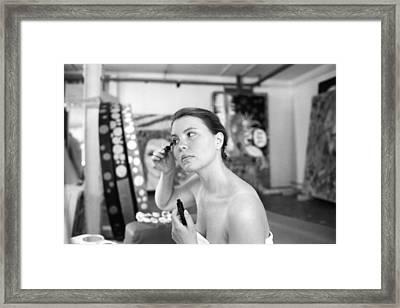 Carla - Atelier Framed Print