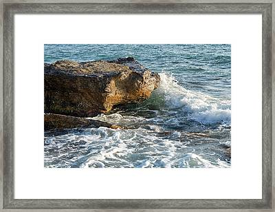 Caspian Sea. Framed Print by Alexandr  Malyshev