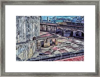 Castillo De San Cristobal Framed Print by Thomas R Fletcher
