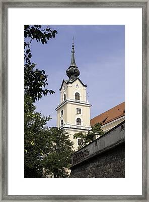Castle Of Rzeszow. Framed Print by Fernando Barozza
