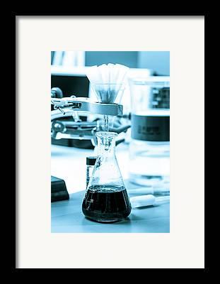 Erlenmeyer Flasks Framed Prints