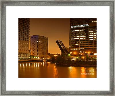 Chicago Framed Print by Miguel Winterpacht