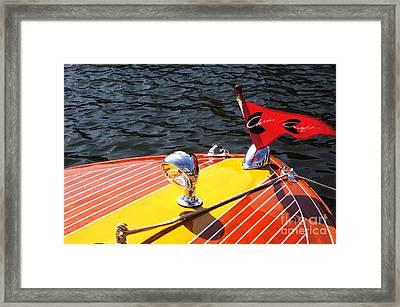 Chris Craft Continental Framed Print